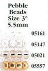 Pebble Beads Size 3° - Mill Hill Beads