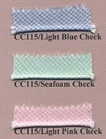 "Petite Piping - Spechler-Vogel 1/32"" Gingham Check"