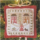Bringing Home the Tree - Little House Needleworks