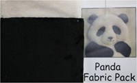 WINDFLOWER-PANDA-VELOUR FABRIC PACK