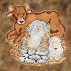 Mill Hill Christmas Trilogy Ornament Kit 2012 - Baby Jesus - MH192301