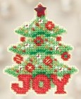 Mill Hill Seasonal Ornament Kit 2012 - Joy Tree - MH182304