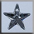 Large Five Pointed Star Crystal Bright 12166
