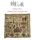 LITTLE DUTCH SAMPLER 1841 - Gigi R Designs,  Private Collection