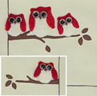 WINDFLOWER PATTERN PACK - Owls