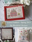 Loose Feathers 2013-Agnes Platt Strawberry Sampler-Blackbird Designs