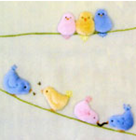 WINDFLOWER - BIRDS ON A WIRE - Pattern Pack