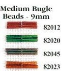 Medium Bugle Beads 9mm- Mill Hill Beads