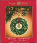 Emerald Wreath - Mill Hill Beaded Cross Stitch Kit - MH16-1305