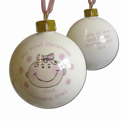 Sake Gifts on Baby Keepsake Bauble The Keepsake Gift Company