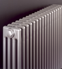 Bisque Classic Floor Mounted Designer Radiator in White