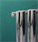 Petrus Designer Radiator By Bisque Radiators in Chrome