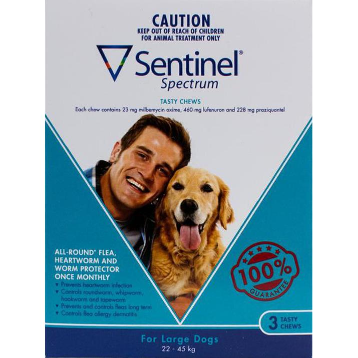 Sentinel-Spectrum-Dogs-50-100lbs-(22-45kg)-3-Chewables