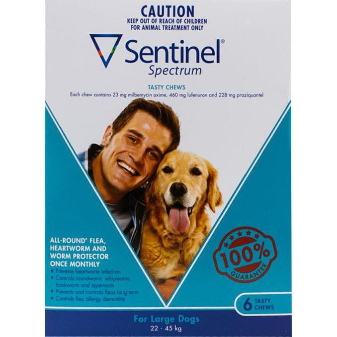 Sentinel-Spectrum-Dogs-50-100lbs-(22-45kg)-6-Chewables
