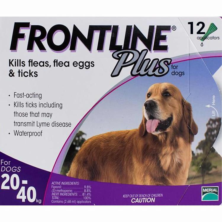 Frontline-Plus-Large-Dogs-44-88lbs-(20-40kg)-12-Pipettes