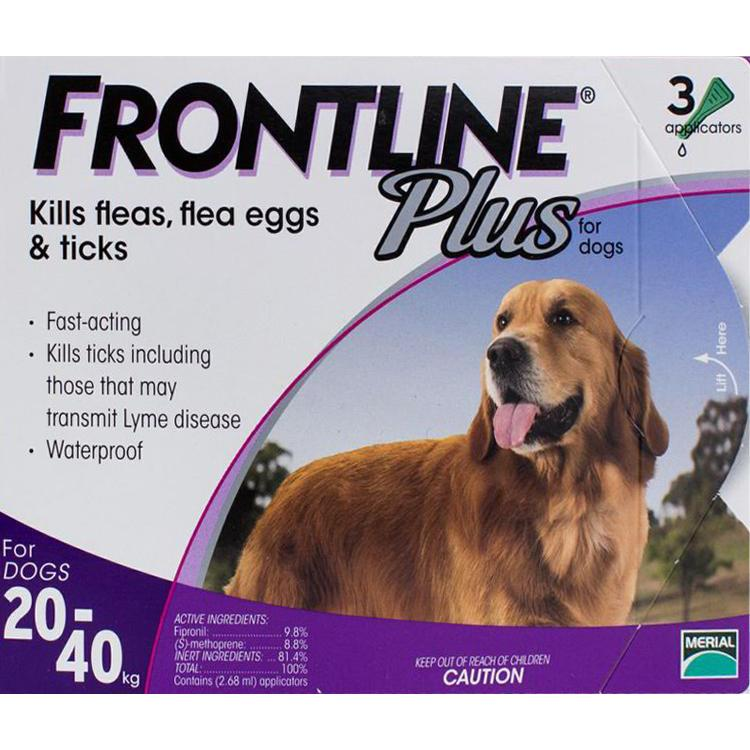 Frontline-Plus-Large-Dogs-44-88lbs-(20-40kg)-3-Pipettes