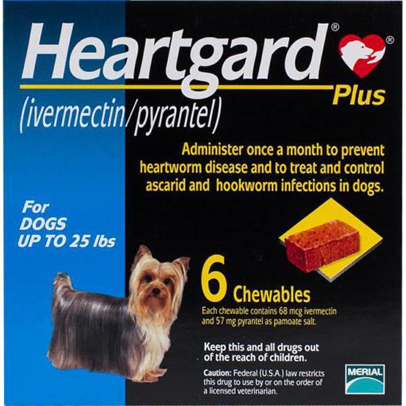 Heartgard-Chewables-Plus-Blue-Dogs-Under-25-lbs-(11-kg)-6-Chewables