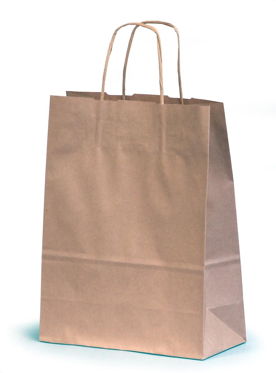 navy blue paper bags with handles