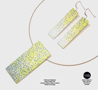 Pendant and Earring Set - Emily Kame Kngwarreye