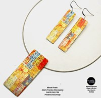 Pendant and Earring Set - Minnie Pwerle