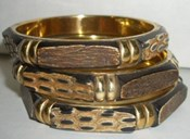 JAB910- Wooden Thinner Bangle ( Single Pc)