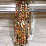 JAB122- Multi 6 pc Bangle Set