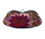 Single EyeGlass Case - Pink/Maroon