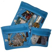 3PC Jewellery/Makeup  pouches - PA405