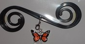 Black Orange Butterfly - BB3020