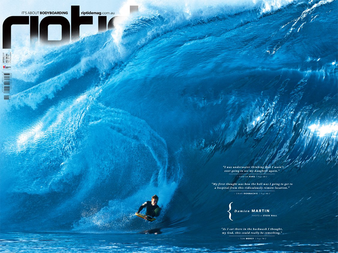 RIPTIDE ISSUE 183 Choose the Way You Ride. Pacific Ocean Waves