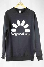 Bodyboard King Logo Crew Neck