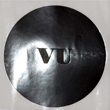 VU Round Sticker