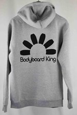 Bodyboard King Logo Zip Up Hoody