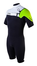 ATTICA WETSUITS ALPHA GBS 2/2mm SPRINGSUIT BLACK/ WHITE / LIME - 2012/13 Summer