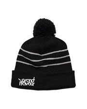 GRAND FLAVOUR Stripe Beanie - Grey