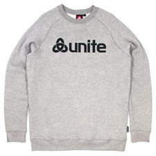 UNITE Trademark Crew Neck Jumper - Grey