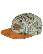 GRAND FLAVOUR Suede World 5 Panel Hat