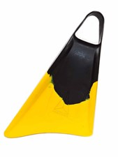 FREEDOM FINS - BLACK/YELLOW