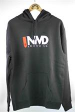 NMD Bodyboards Logo Hooded Jumper - Charcoal