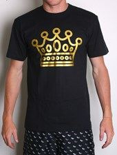 GRAND FLAVOUR Crown T -Shirt - Black