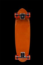 Hot Buttered Glass Slipper Skateboard - Orange