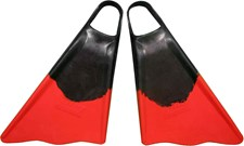 ALLY FINS - Red/ Black