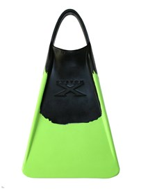 CUSTOM X FINS -BLACK/ LIME