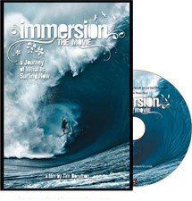 Immersion - The Movie - Blue Ray Disc