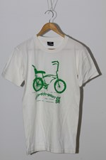 No Friends Clothing Dragster T Shirt - White