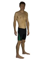 Dunes 2/2mm Wetsuit Shorts  - Black/ Green
