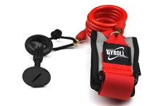GYROLL Bicep Leash Red