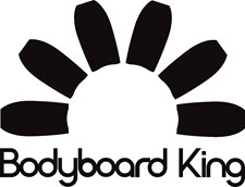 Bodyboard King Sticker - Black