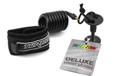 Turbo Deluxe Wrist Leash - Black