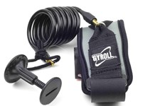 GYROLL Bicep Leash Black